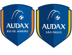 Escudos Audax Rio e Audax São Paulo